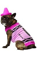 Crayola Tickle Me Pink Pet Dog Costume