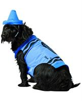 Crayola Sky Blue Pet Dog Costume