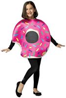 Strawberry Donut With Bite Adult Costume