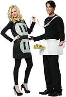 Plug and Socket Couples Costume Lightweight Adult