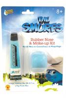 The Smurfs Rubber Nose and Makeup Kit