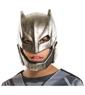 Dawn Of Justice Batman Armored Costume 1/2 Mask Child One Size