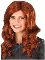 Captain America 3 Black Widow Costume Wig Child One Size