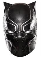 Captain America 3 Black Panther Full Vinyl Costume Mask Child One Size