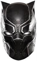 Captain America 3 Black Panther Full Vinyl Costume Mask Adult One Size