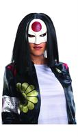 Suicide Squad Katana Costume Wig Adult One Size