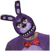 Five Nights at Freddy's Bonnie Costume Half Mask Adult