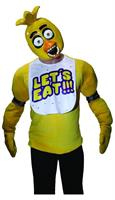 Five Nights at Freddy's Chica Costume Half Mask Adult
