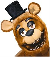 Five Nights at Freddy's Freddy Costume 3/4 Mask Adult Standard