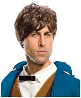 Fantastic Beasts And Where To Find Them Newt Adult Costume Wig