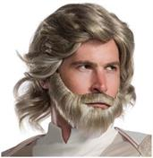 Star Wars: The Last Jedi Luke Skywalker Adult Costume Wig & Beard Kit