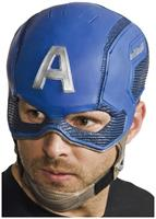 Avengers 2 Captain America Molded Costume Mask Adult One Size