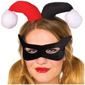 Harley Quinn Adult Eyemask/Headpiece Kit Costume Accessory