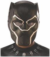 Marvel: Avengers: Infinity War Black Panther Child Costume 1/2 Mask