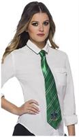 Harry Potter Adult Costume Neck Tie, Slytherin, One Size