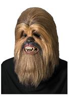 Super Deluxe Chewbacca Latex Overhead Mask - One Size