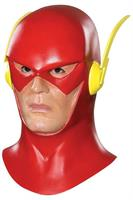 The Flash Costume Mask With Cowl Adult