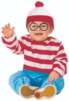 Where's Waldo Toddler Onesie Costume