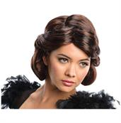 Oz The Great And Powerful Evanora Brunette Costume Wig Adult