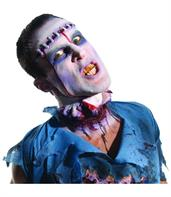 Zombie Lobotomy Latex Appliance Costume Makeup