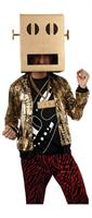 LMFAO Robot Pete Party Rock Anthem Costume Adult