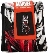 Marvel Venom Lightweight Fleece Throw Blanket | 40 x 60 Inches