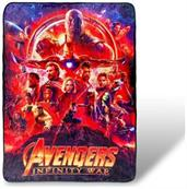 Avengers Infinity War Lightweight Fleece Throw Blanket| 45x60 Inches