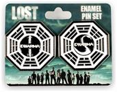 LOST Dharma Collectibles| LOST Dharma Initiative Station Enamel Collector Pin Set