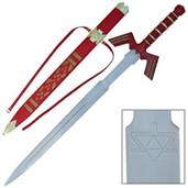 "Legend of Zelda 36"" Twilight Shadow Master Metal Sword Replica, Red"