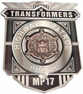 Transformers MP-17 Prowl Bonus Collector Coin
