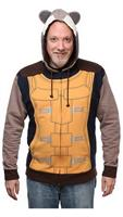 Marvel Guardians Of The Galaxy Rocket Raccoon Adult Hoodie