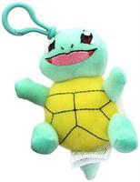 Pokemon 3 Inch Plush Clip On - Squirtle