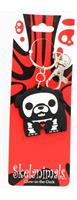 Skelanimals PVC Character Keychain: Max the Bulldog