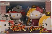 Hello Kitty Street Fighter 2 Figure Pack Ryu and Cammy