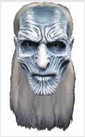Game of Thrones White Walker Full Latex Adult Costume Mask