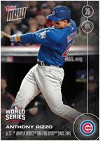 MLB Chicago Cubs Anthony Rizzo #633 2016 Topps NOW Trading Card