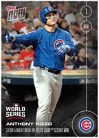 MLB Chicago Cubs Anthony Rizzo #652A 2016 Topps NOW Trading Card