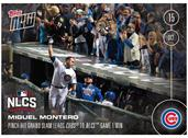 MLB Chicago Cubs Miguel Montero #589 Topps NOW Trading Card