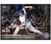 MLB Chicago Cubs Kyle Hendricks #614 2016 Topps NOW Trading Card