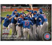 MLB Chicago Cubs Celebrate First World Series Title Since 1908 #665 2016 Topps NOW Trading Card