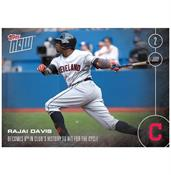 MLB Cleveland Indians Rajai Davis #202 2016 Topps NOW Trading Card