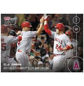 MLB LA Angels C.J. Cron #204 2016 Topps NOW Trading Card