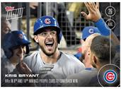 MLB Chicago Cubs Kris Bryant #398 Topps NOW Trading Card