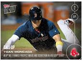 MLB Boston Red Sox Yoan Moncada (Call-Up) #418 Topps NOW Trading Card