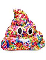 "Emojicon 14"" Vanilla Scented Sprinkle Poop Pillow"