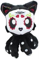 Day of the Dead Dia De Los Muertos Sugar Skull Tentacle Kitty 4 Inch Little Ones Plush