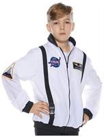 White Astronaut Jacket Child Costume