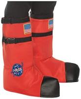 Orange Astronaut Boot Tops Child Costume Accessory