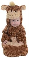 Monkey Bunting Infant Costume One Size