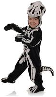 Dinosaur T-Rex Skeleton Child Costume